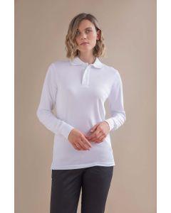 Unisex Coolplus® Long Sleeved Polo Shirt