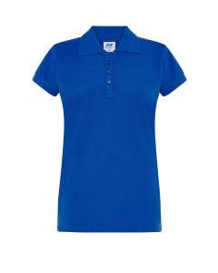 Polo pique lady royal blue