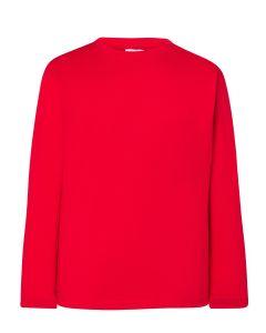 Kids T-shirt LS red