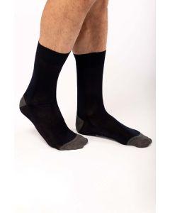 Halflange, geklede sokken van gemerceriseerd katoen.