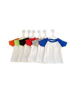 T-shirtsz mini baseball t-shirt colours